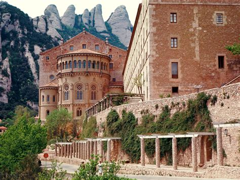 gallery of south mountain community library rich 228 rd monastery of montserrat spain picture monastery of