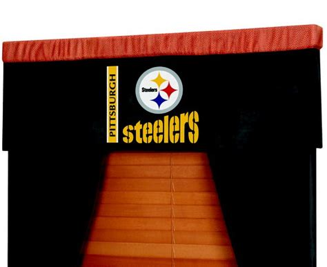 pittsburgh steelers curtains pittsburgh steelers nfl football valance