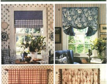 Swag Curtain 5737 by Swag Curtain Pattern Etsy