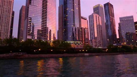 architectural boat tour chicago illinois hd sunset timelapse of the chicago architectural boat tour
