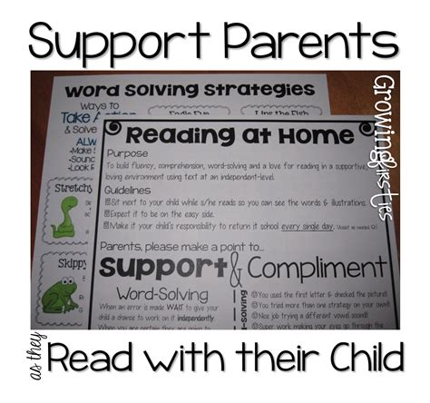 Parent Letter Home About Reading Parent Support For At Home Reading Back To School Parent Input Form Freebie Growing Firsties
