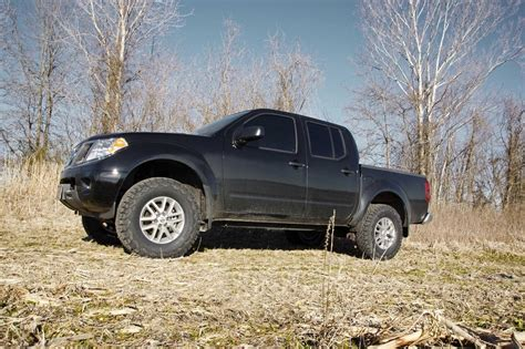 nissan frontier lift kit before and after 2 5in suspension lift kit for 05 17 nissan frontier
