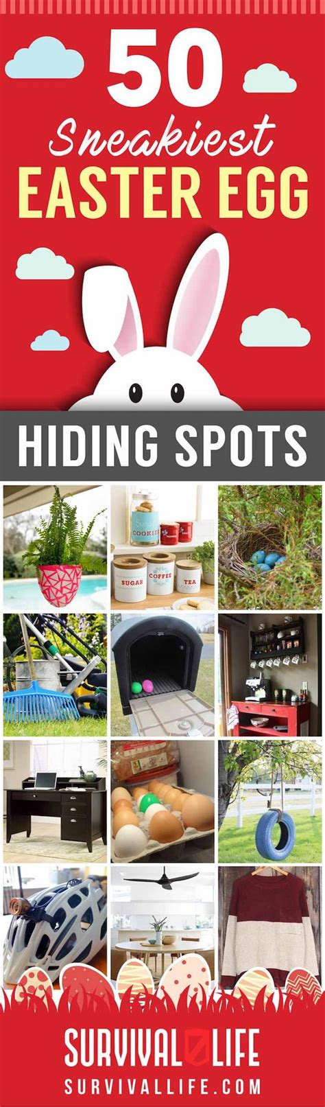why do you hide eggs on easter 50 sneakiest easter egg hiding spots survival