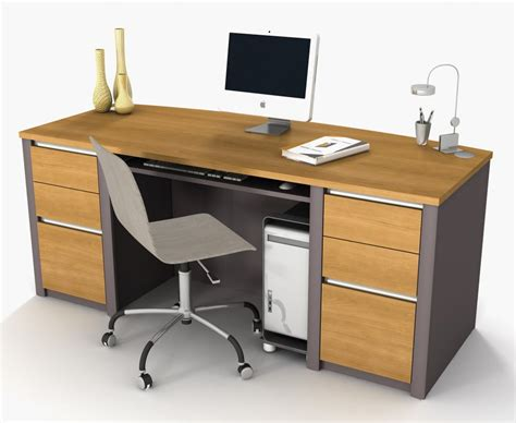 Modern Office Desk Design Offer Professional And Stylish Modern Wood Office Desk