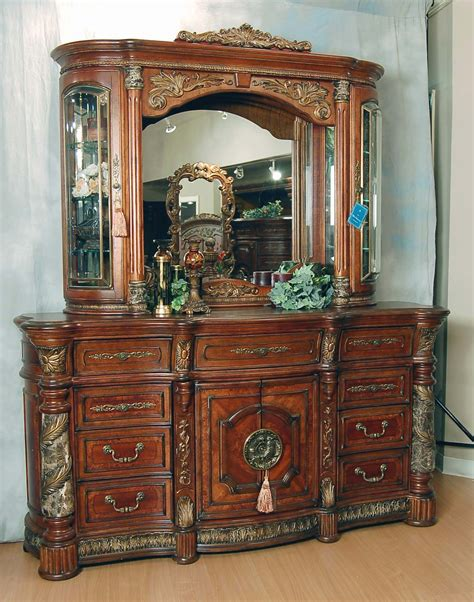 villa valencia bedroom set classic romantic old world spanish chestnut bedroom set