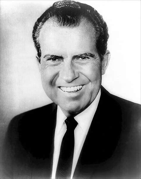 Nixon Copy pin portrait of nixon and link to pdf copy ad on