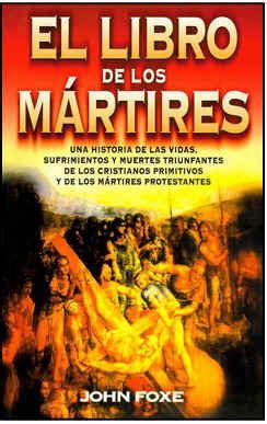 el libro de los 1974614794 el libro de los m 193 rtires