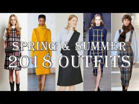 2018 outfits spring & summer women's fashion youtube