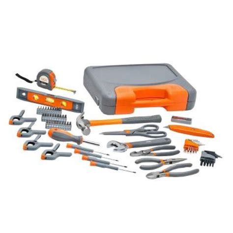 Home Depot Tools by Hdx 76 Pc Homeowner S Tool Set 19 97 P U Home Depot