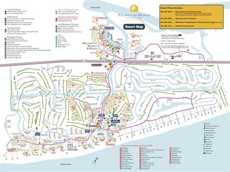 sea resort map maps at vacation comfort rentals