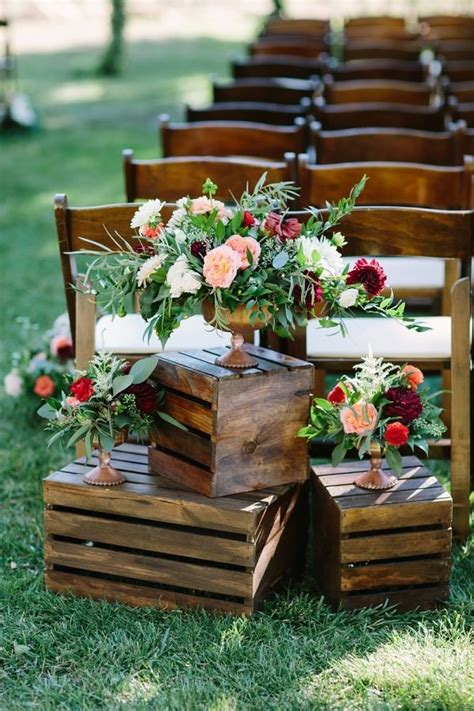 Wedding Aisle Decorations Rustic by 20 Breathtaking Wedding Aisle Decoration Ideas To
