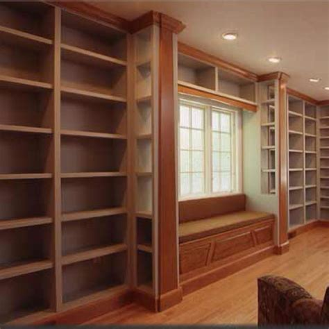home library shelves inspiration home library with window seat shelving