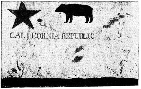 california flag 1846