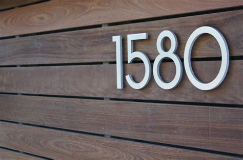House Address Numbers by Address Numbers Gallery Modern Address Numbers Santa