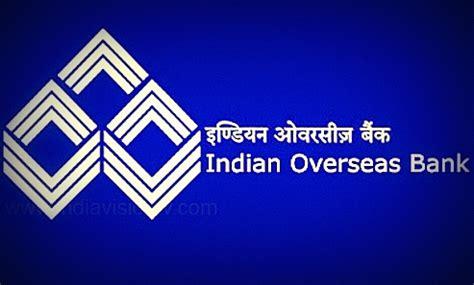 indian oversees bank indian overseas bank iob 2013 notification