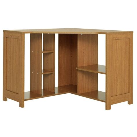 Buy Corner Desk Buy Home Conrad Corner Desk Oak Effect At Argos Co Uk Your Shop For Desks And