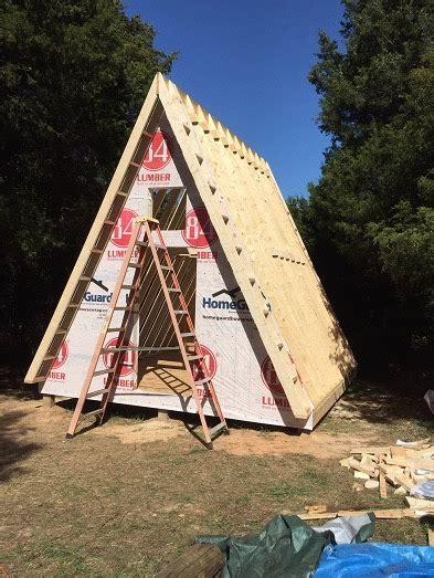 a frame blueprints 14 x14 tiny a frame cabin plans by lamar