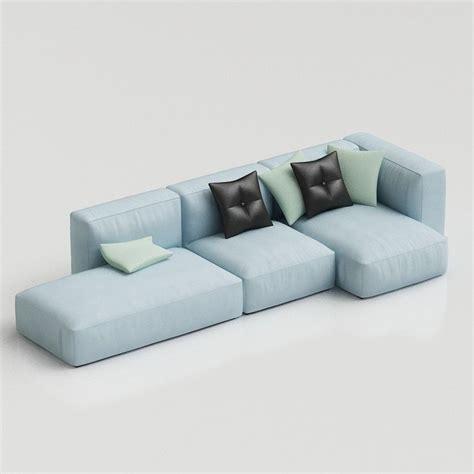 hay mags sofa hay mags soft modular sofa 15 00 3d furniture models