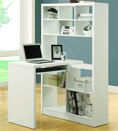corner computer desk bookcase in desks