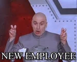 Employee Meme - new employee laser meme on memegen