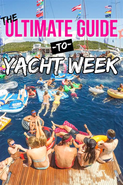 yacht week 2018 yacht week croatia 2017 the ultimate guide for the yacht