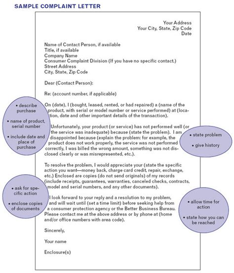 Complaint Letter To Elevator Company how to compose an explanation to a complaint letter