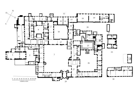 Louvre Floor Plan by L 233 Tiquette Et La Distribution Des Appartements Officiels