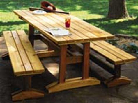 trestle picnic table plans trestle picnic table plan