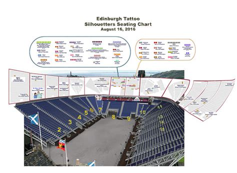 tattoo edinburgh seating plan tattoo