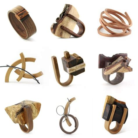 Recycled Wooden Wedding Ring From Gustav Reyes by 1000 Ideas About Wood Rings On Wood