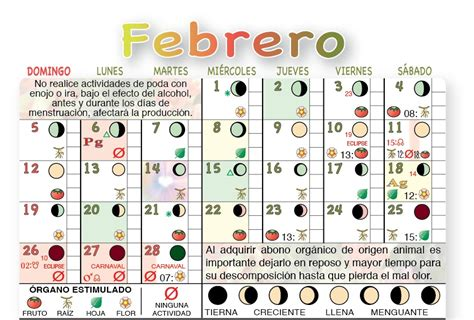 Calendario Lunar Marzo 2017 Argentina Calendario Agricola Lunar 2017 2016