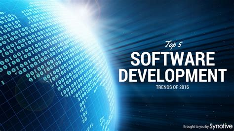 Top 5 Home Design Software top 5 software development trends of 2016 synotive
