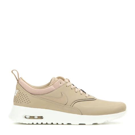 nike air sneakers nike air max thea premium leather sneakers in lyst