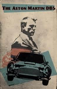 Aston Martin Db5 Poster Bond Poster 007 Poster Alternative Goldfinger Poster