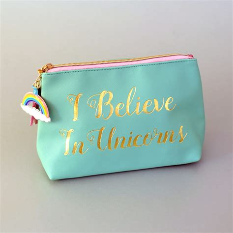 makeup bag oh so soft made with pull tabs and yarn bee unicorn makeup bag buy online uk