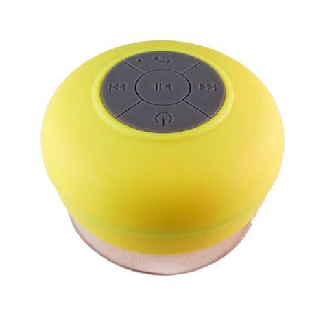 Lapara Waterproof Bluetooth Shower Speaker Bts06 Fvj lapara bluetooth speaker waterproof bts06 yellow