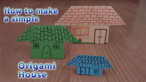 How To Make House Origami - how to make origami house stem explorers