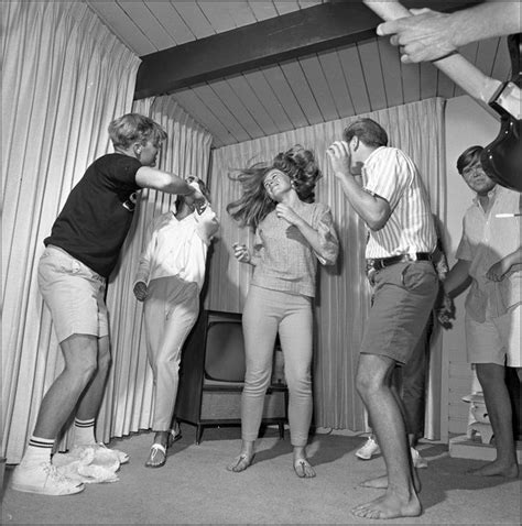 vintage dance party 1950s houseparty with the teenagers the 30s 40s 50s 60s