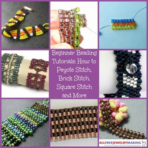 bead patterns for beginners beginner beading tutorials how to peyote stitch brick