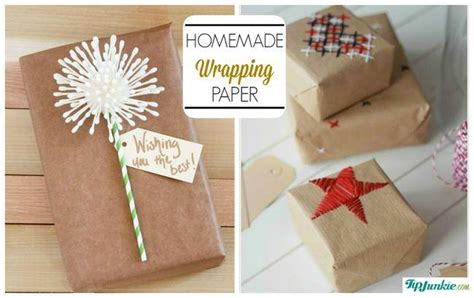 Handmade Wrapping Paper Ideas - 17 gift wrapping ideas you ll adore tip junkie