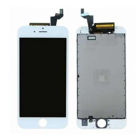 ecran lcd complet iphone 6s blanc grade a lapommediscount