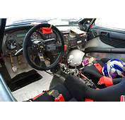 1992 Works Toyota Celica GT Four ST185 Rally Car Interior