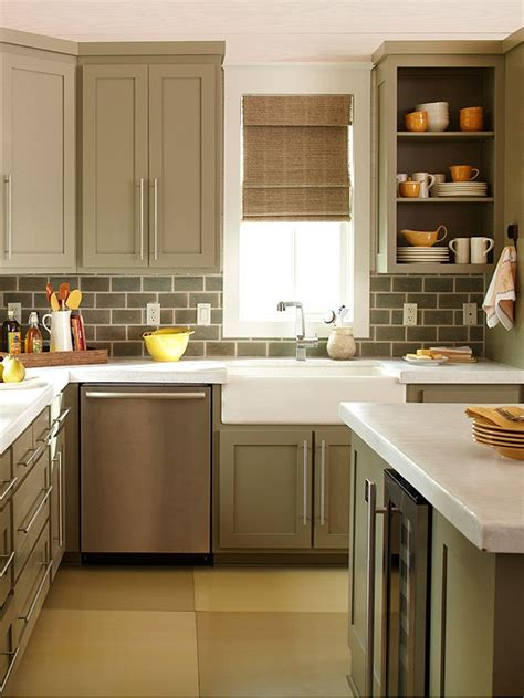 small kitchen interior design look larger