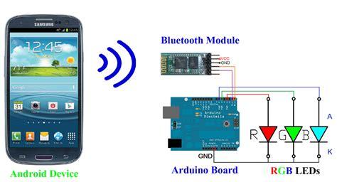 tutorial android bluetooth arduino android arduino control arduino control rgb leds via