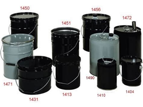 steel pails