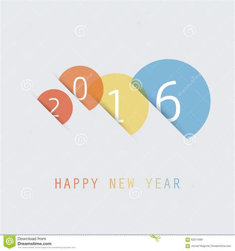 best wishes card design templates simple colorful new year card cover or background design