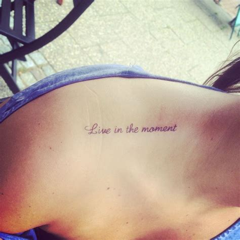 new live in the moment tattoos piercings