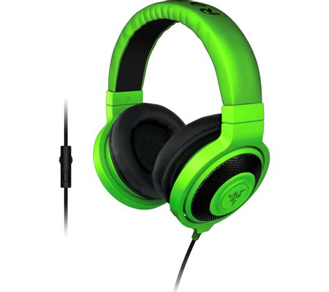 Headset Gaming Razer razer kraken pro 2015 analog 2 1 gaming headset green deals pc world