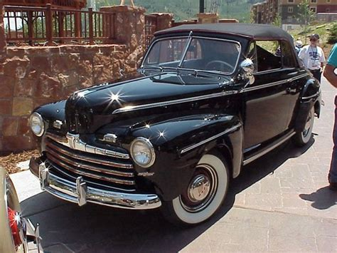 1946 ford deluxe convertible r l stauffer antique autos gallery restored vintage