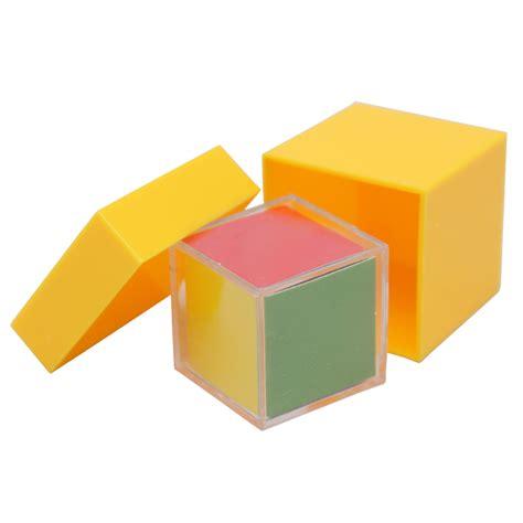 Cube Aufkleber Rot by Lustiger Magische Prop Cube Und Den Kasten F 252 R Kinder